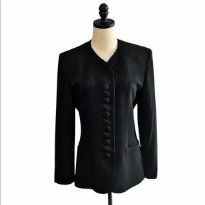 Christian Dior Black Wool Blazer SZ 6